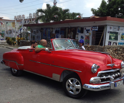 Rental Car in Cuba